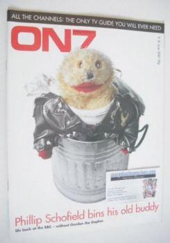 ON7 magazine - 9-15 June 2001 - Gordon the Gopher cover