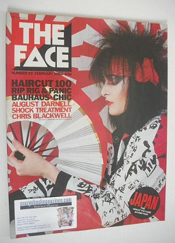 <!--1982-02-->The Face magazine - Siouxsie Sioux cover (February 1982 - Iss