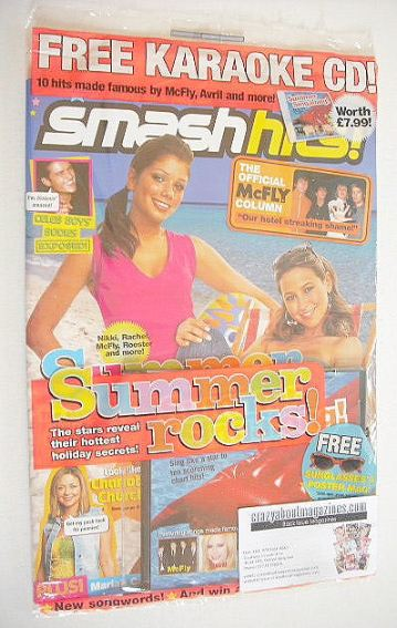<!--2005-06-28-->Smash Hits magazine - Summer Rocks cover (28 June - 11 Jul