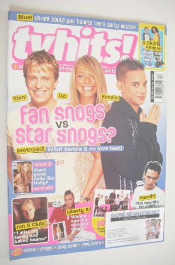 <!--2002-12-->TV Hits magazine - December 2002 - Kian, Liz and Kenzie cover