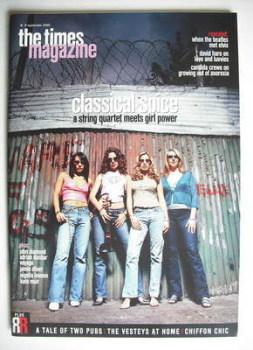 <!--2000-09-09-->The Times magazine - Bond Girls (9 September 2000)
