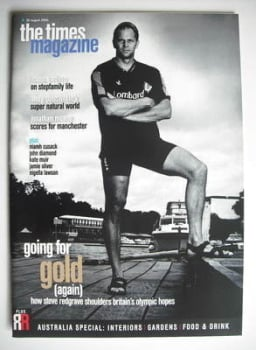 The Times magazine - Steve Redgrave cover (26 August 2000)