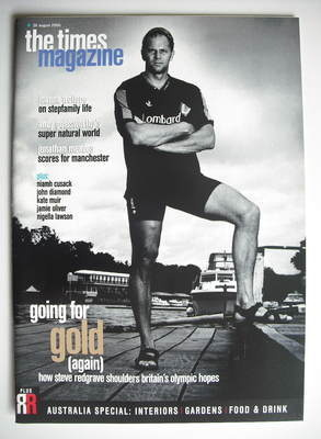 <!--2000-08-26-->The Times magazine - Steve Redgrave cover (26 August 2000)