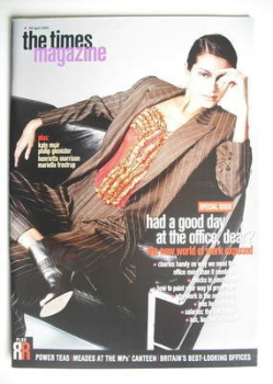 The Times magazine - Had A Good Day At The Office Dear cover (28 April 2001)