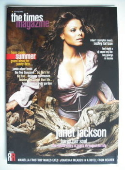 <!--2001-05-12-->The Times magazine - Janet Jackson cover (12 May 2001)