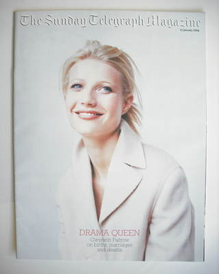 The Sunday Telegraph magazine - Gwyneth Paltrow cover (11 January 2004)