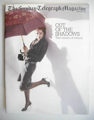 The Sunday Telegraph magazine - Out Of The Shadows cover (23 November 2003)