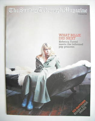 The Sunday Telegraph magazine - Billie Piper cover (8 February 2004)