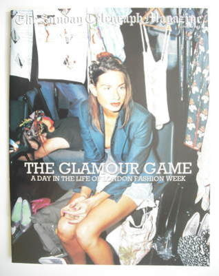The Sunday Telegraph magazine - The Glamour Game (12 October 2003)
