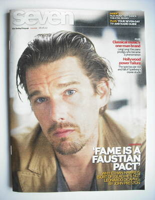 Seven magazine - Ethan Hawke cover (6 June 2010)