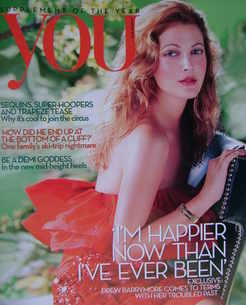 <!--2010-03-14-->You magazine - Drew Barrymore cover (14 March 2010)