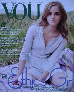 <!--2010-01-31-->You magazine - Emma Watson cover (31 January 2010)