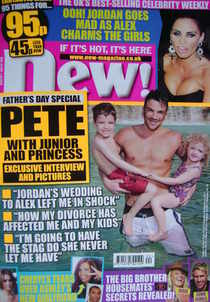 <!--2010-06-21-->New magazine - 21 June 2010 - Peter Andre cover