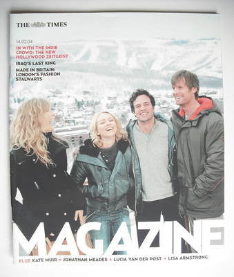 <!--2004-02-14-->The Times magazine - In With The Indie Crowd cover (14 Feb