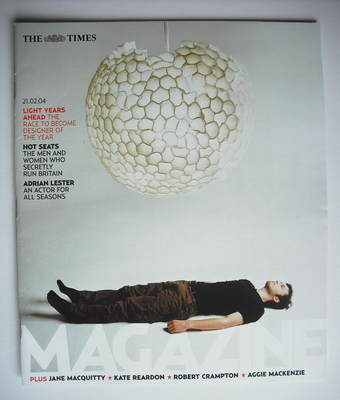 <!--2004-02-21-->The Times magazine - Light Years Ahead cover (21 February