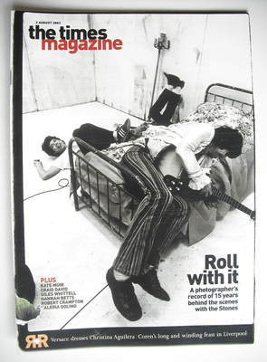 <!--2003-08-02-->The Times magazine - Mick Jagger and Keith Richards cover