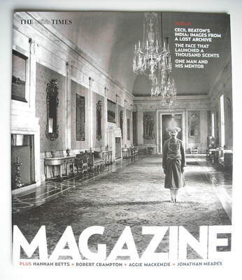 <!--2004-01-24-->The Times magazine - Cecil Beaton's India cover (24 Januar