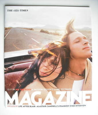 <!--2004-01-10-->The Times magazine - Hit The Road cover (10 January 2004)
