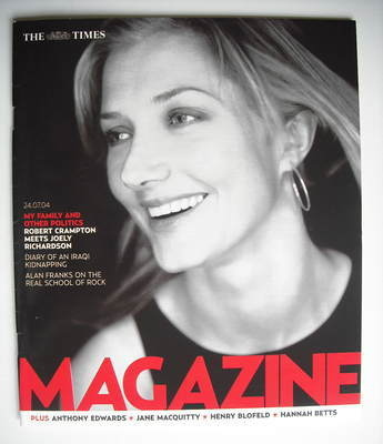 <!--2004-07-24-->The Times magazine - Joely Richardson cover (24 July 2004)