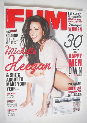 <!--2013-03-->FHM magazine - Michelle Keegan cover (March 2013)