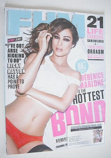 <!--2012-12-->FHM magazine - Berenice Marlohe cover (December 2012)