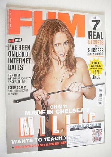 <!--2012-11-->FHM magazine - Millie Mackintosh cover (November 2012)