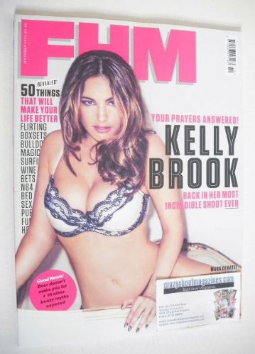 <!--2012-10-->FHM magazine - Kelly Brook cover (October 2012)