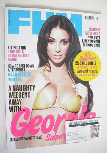 <!--2012-08-->FHM magazine - Georgia Salpa cover (August 2012)