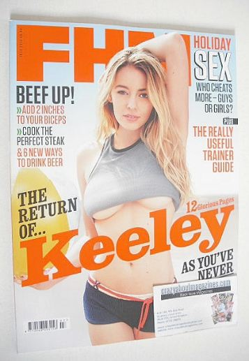 <!--2012-07-->FHM magazine - Keeley Hazell cover (July 2012)
