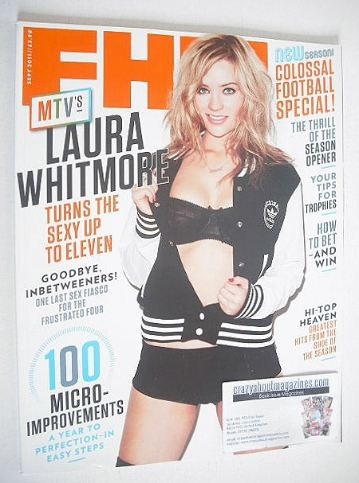 <!--2011-09-->FHM magazine - Laura Whitmore cover (September 2011)