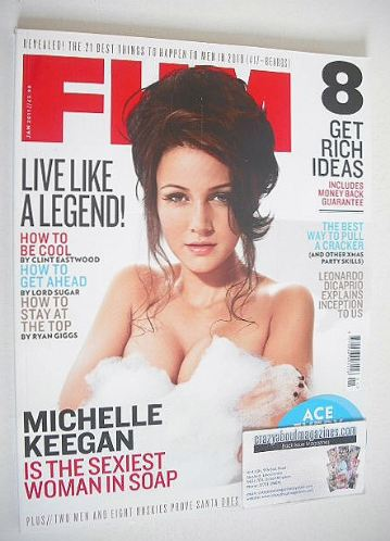 <!--2011-01-->FHM magazine - Michelle Keegan cover (January 2011)
