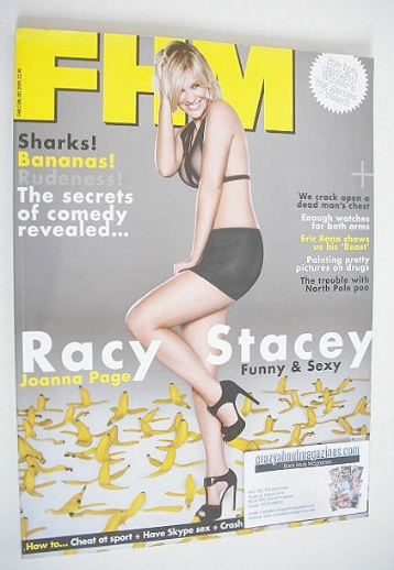 <!--2009-12-->FHM magazine - Joanna Page cover (December 2009)