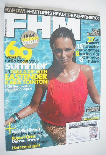 <!--2009-08-->FHM magazine - Kara Tointon cover (August 2009)