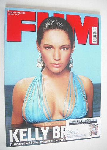 <!--2005-07-->FHM magazine - Kelly Brook cover (July 2005)