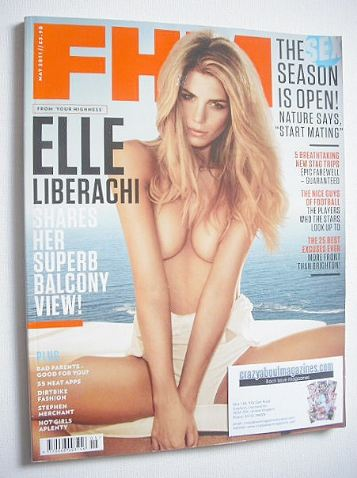 <!--2011-05-->FHM magazine - Elle Liberachi cover (May 2011)