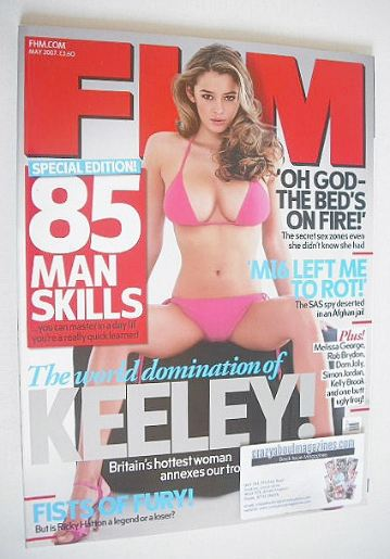<!--2007-05-->FHM magazine - Keeley Hazell cover (May 2007)