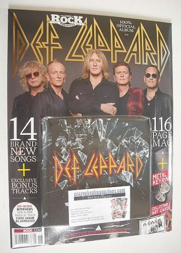 <!--2015-10-30-->Classic Rock magazine - Def Leppard Album and Fanpack (Pub