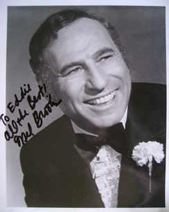 Mel Brooks autograph