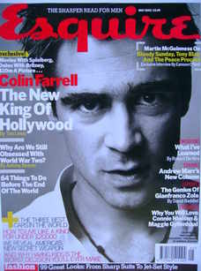 <!--2003-05-->Esquire magazine - Colin Farrell cover (May 2003)