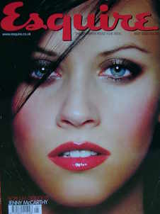 <!--2000-05-->Esquire magazine - Jenny McCarthy cover (May 2000)