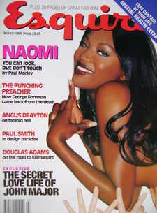 <!--1995-03-->Esquire magazine - Naomi Campbell cover (March 1995)