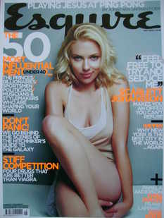 <!--2005-05-->Esquire magazine - Scarlett Johansson cover (May 2005)