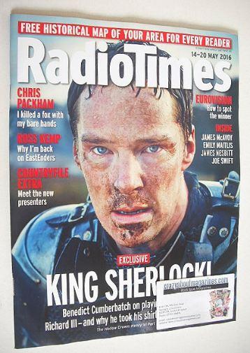 <!--2016-05-14-->Radio Times magazine - Benedict Cumberbatch cover (14-20 M