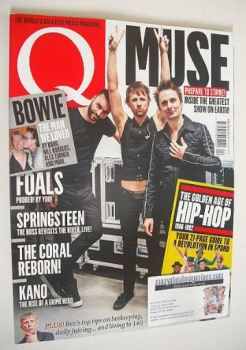 Q magazine - Muse cover (April 2016)