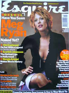 <!--2003-11-->Esquire magazine - Meg Ryan cover (November 2003)