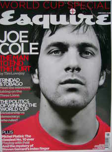 <!--2006-06-->Esquire magazine - Joe Cole cover (June 2006)
