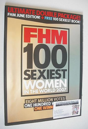 FHM supplement - 100 Sexiest Women In The World 2007
