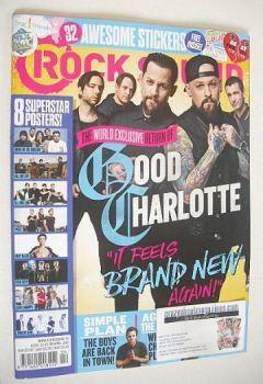 Rock Sound magazine - Good Charlotte cover (April 2016)