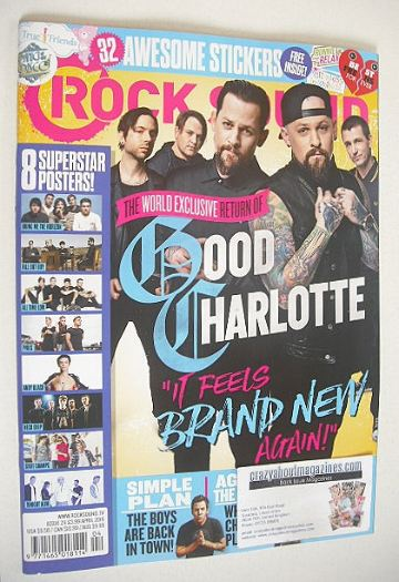 <!--2016-04-->Rock Sound magazine - Good Charlotte cover (April 2016)