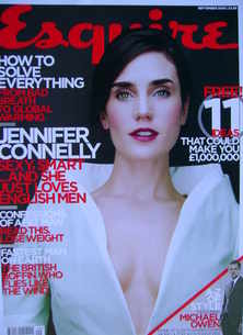 <!--2005-09-->Esquire magazine - Jennifer Connelly cover (September 2005)